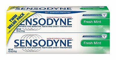 Sensodyne Fresh Mint Toothpaste, 4 oz,