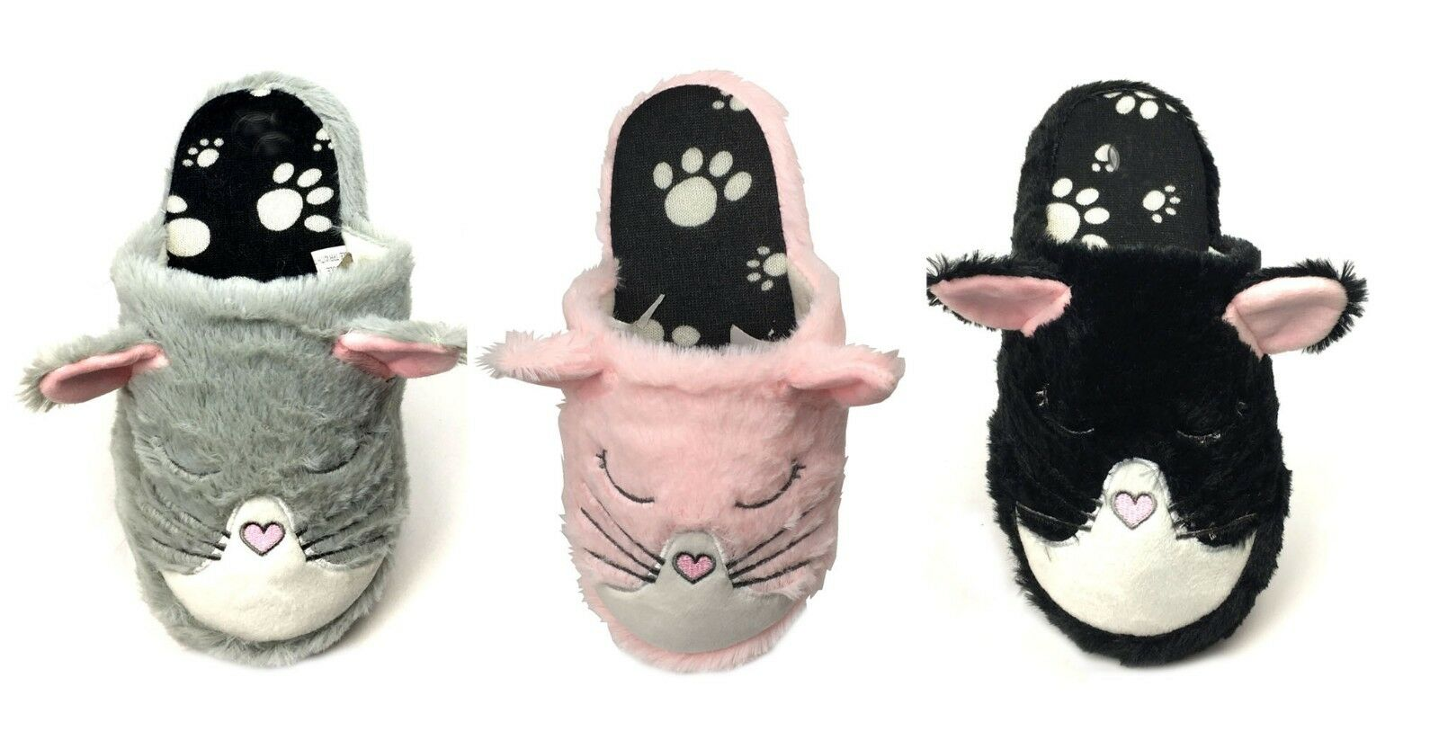 New Women's Girls Cute Animal Plush Slipper Winter Warm Comf