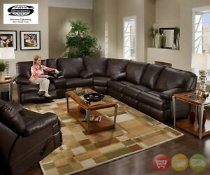 Charleston-Brown-Bonded-Leather-Motion-Sectional-Sofa-Love-Wedge-Simmons-50980