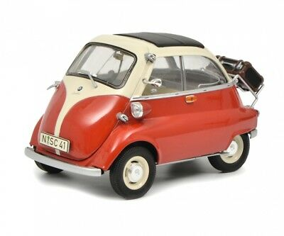 Schuco 1/18 BMW Isetta Export red/beige 450041000,