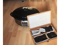 Hot Stone Massage Kit - 36 piece & 6.5 Quart stone heater