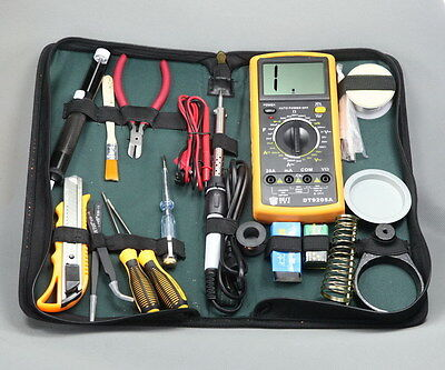 Gjnh17 Electric Soldering Iron Set Solder Welding Iron Tool Kit 20 In 1 New