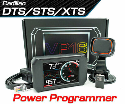Volo Chip VP16 Power Programmer Performance Race Tuner for Cadillac DTS/STS/XTS