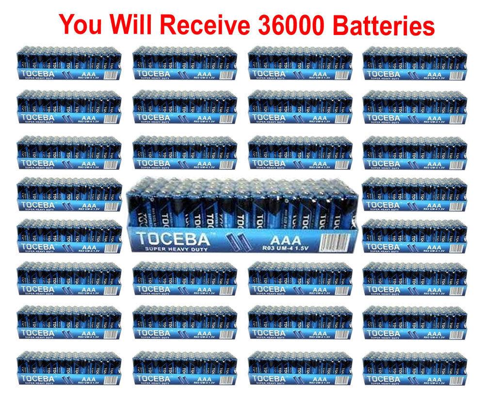 240 Pack AAA Batteries Heavy Duty 1.5v Bulk Wholesale Lot Fresh