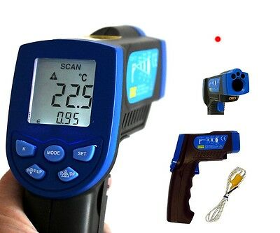 HoldPeak Infrarot Thermometer Pyrometer Laser IR Distanz 12:1 HP-880EK