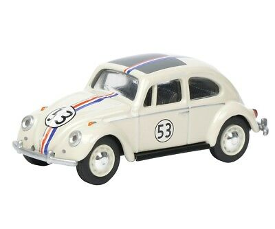 Model Car VW Volkswagen Beetle Rallye # 53 Herbie metal DieCast 1/64 Schuco