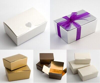 late Truffle Party Favour Christmas Gift Box 103x67x45mm (Small Favor Boxen)