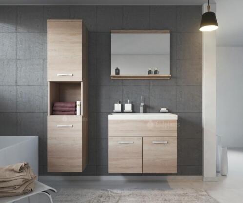 Wastafel Met Kast : ≥ badmeubel montreal badkamermeubel badkamerkast wastafel kast