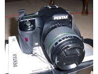 Pentax K20d DSLR Body.