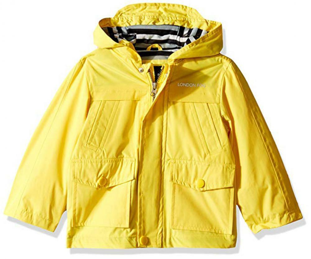 LONDON FOG Boys Rainslickers Rain Jacket