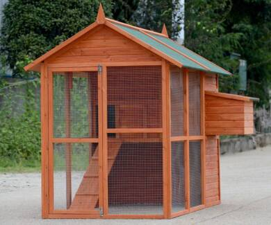 X-Large Chick Coop for 6 Chickens WP001m 201cm x 150cm x 160cm