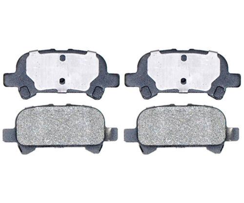 Avalon Rear  Semi-Metallic Brake Pads Solara For 2000-2008 Toyota Camry