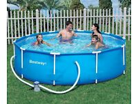 Best way 10ft framed swimming pool BRAND NEW