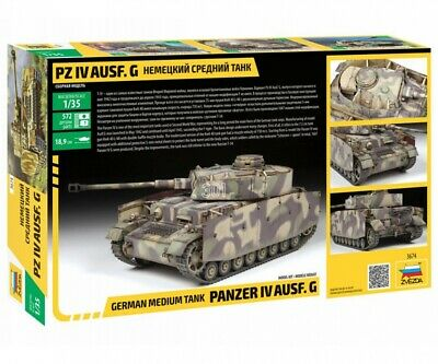 Zvezda 1/35 Panzer IV Ausf.G (Sd.Kfz.161) Neu - Schnell N. 500783674