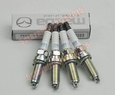 4pcs Iridium PE5R-18-110 ILKAR7L11 Spark Plug for Mazda 3 6 CX-3 CX-5 MX-5 Miata