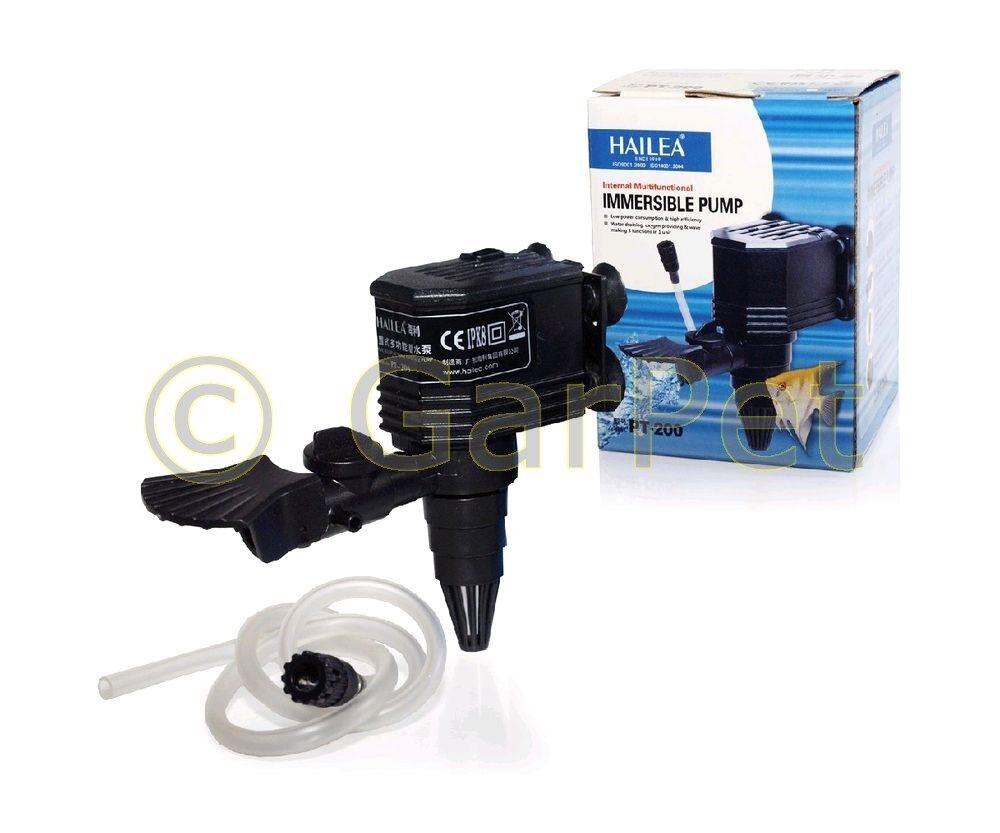 HAILEA PT - Serie Aquarium Powerhead Pumpe Wasserpumpe Förderpumpe Filter