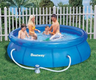 FREE 10FT INFLATABLE POOL WITH FILTER