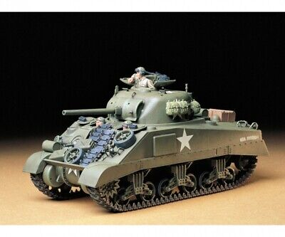 Modellbau Tamiya 300035190 1:35 US Mitl. Panzer M4 Sherman Früh.