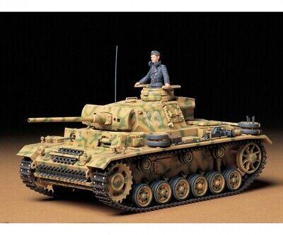 Modellbau Tamiya 300035215 1:35 Deutsche Panzer Kampfwagen III Ausf. L