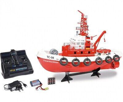 Carson 500108033 - Fireboat RC TC-08 2.4G 100% Rtr - Nuevo