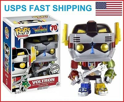 NEAR MINT BOX Funko POP Metallic Voltron Anime Expo Exclusive Figure