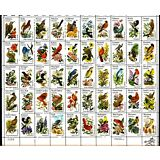 STATE BIRDS AND FLOWERS (1982) #1953-2002 Full Mint Sheet of 50 Postage Stamps