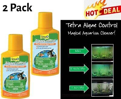 Aquarium Algae Control Fish Tank Clear Water Solution Broad Spectrum Treatment  Fish Water Treatment