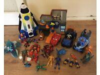 Cool bundle of toys( Mater garage, spaceship etc