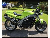 TRIUMPH SPEED TRIPLE 955I - £2200 or VNO