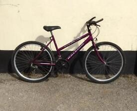 Ladies Raleigh max mountain bike 18'' frame £45