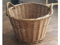 Wickerwok Log Basket. Ideal for logs or toys