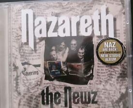 NAZARETH CD THE NEWS NEW