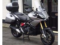 APRILIA Caponord 1200 ABS Travel Pack. 2013. NOT gs1200 Yamaha super tenere Triumph tiger v strom