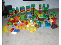 Lego Duplo Bundle - Number Train Jake's Never Land & Assorted Bricks 230+ Pieces