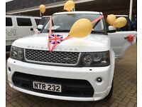 Chauffeur and Range Rover Sport Hire for Nights Out-Birthdays-Airport Transfers-Shopping Trips-Etc