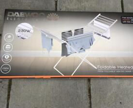 Brand new Daewoo electric heated airer