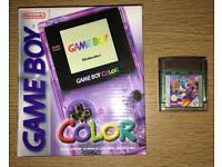 Nintendo GameBoy Color Atomic Purple Console