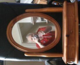 2 Pine mirrors