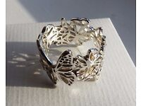 Butterfly Ring 925 Silver