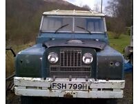 Land Rover Series 2a Restoration Project