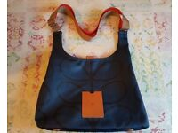 Orla Kiely bag and matching purse