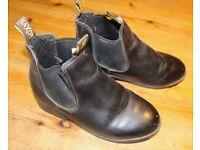 Children's Saxon riding ankle boots