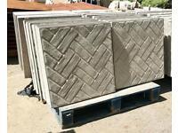 2x2 / 600x600 brick / block paving effect concrete Paving slabs
