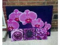 4 × Gorgeous Canvas Prints