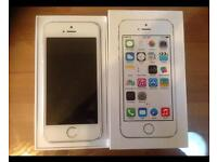 iPhone 5S Gold Factory Unlocked With Box & Accessories
