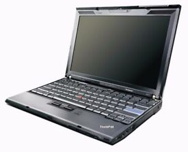 Lenovo Thinkpad X201 Executive laptop i5 processor, 4GB RAM, 500GB HD Win7 (optional SSD + Win10)