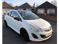 Vauxhall Corsa 1.2 Limited Edition 2011 White