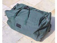 Large soft sided roller bag