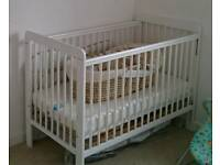 Used John Lewis Eric Cot in white