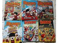 Beano and Dandy annuals – low price for quick sale